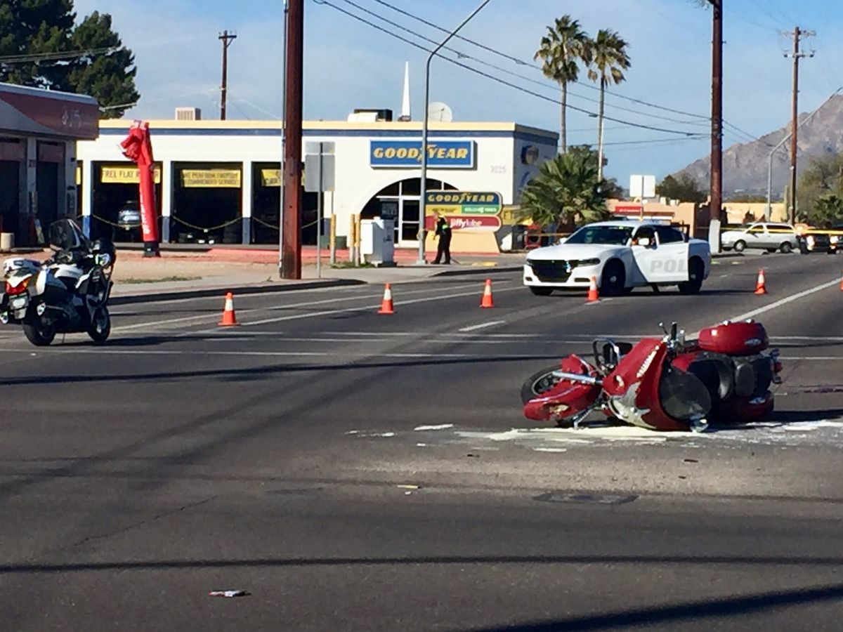 UPDATE: Motorcycle crash turns fatal