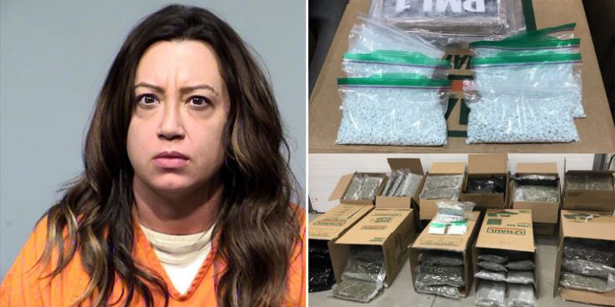 Ohio woman arrested in Arizona, drugs found in truck