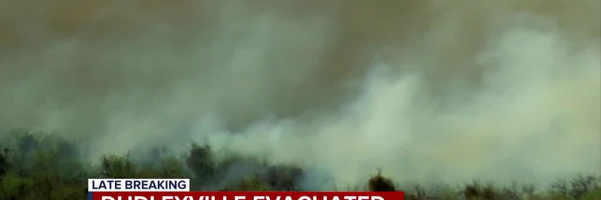 6 pm Update: Margo Fire in Pinal County