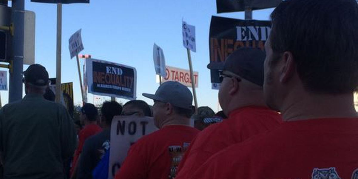 Asarco miners rally for better pay, safer work conditions