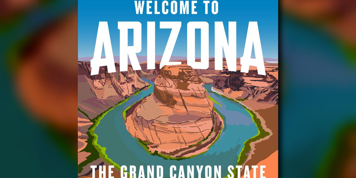 New Arizona highway signs give drivers a colorful welcome