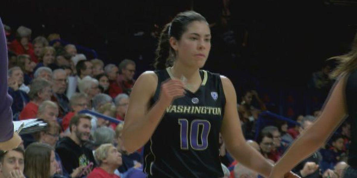 WOMEN: UW's Plum scores 36 in win over Wildcats