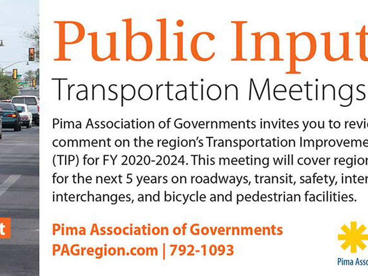 PAG holding meetings for public input on 5-year transportation program