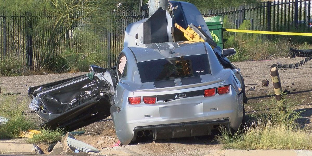 Police investigating single-vehicle crash in west Tucson