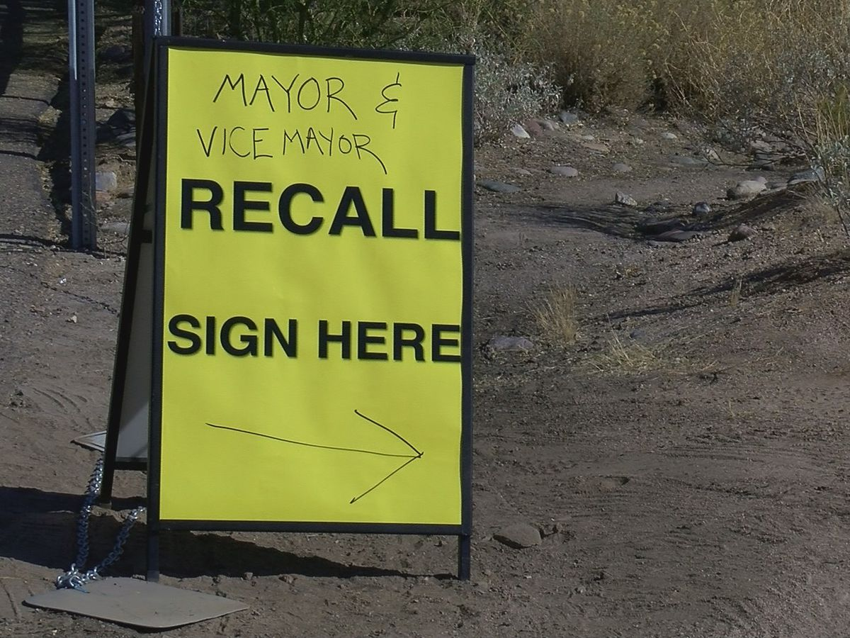 Oro Valley residents want recall election for mayor, vice mayor