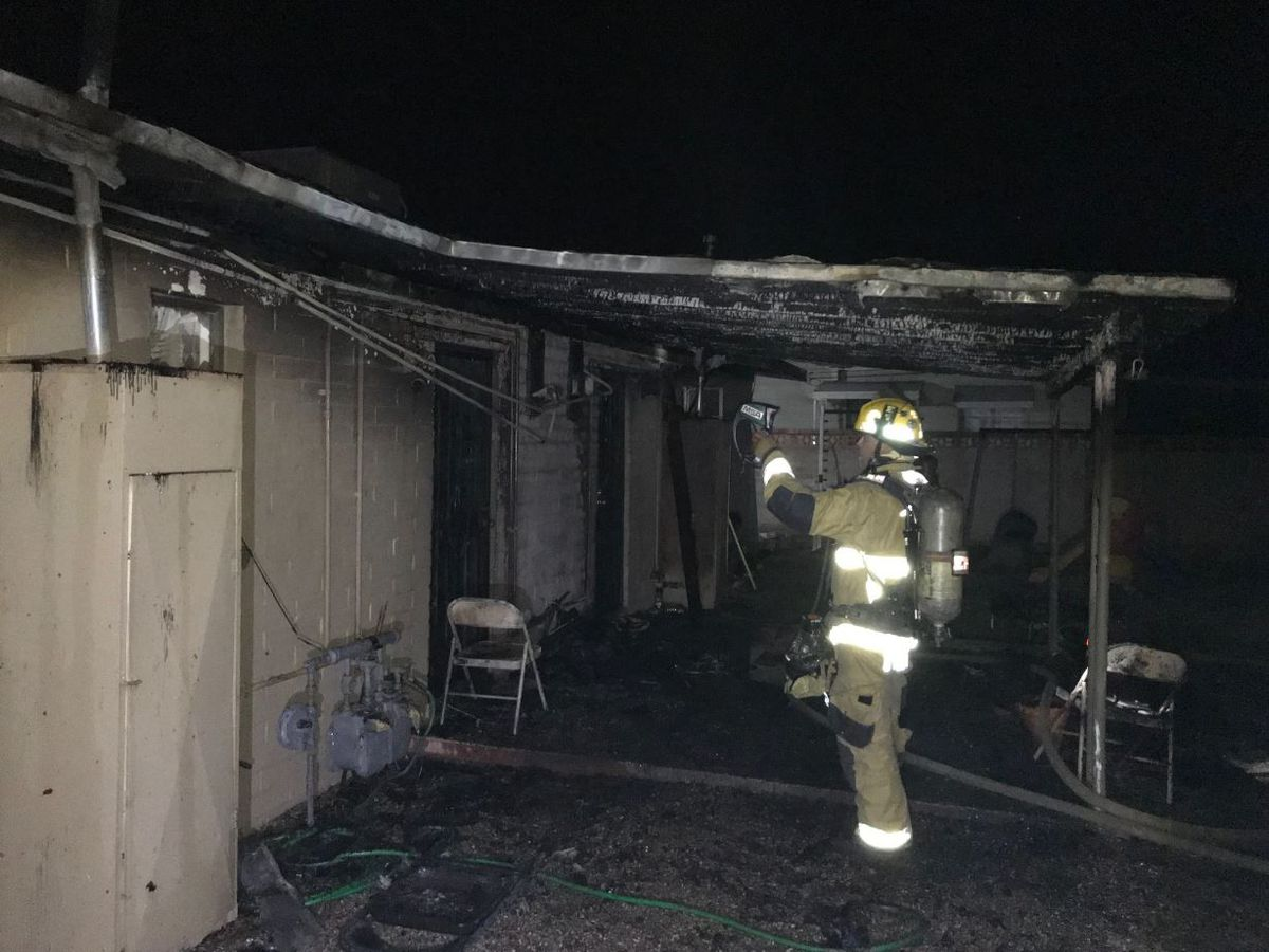 Fire damages duplex, displaces 2 residents