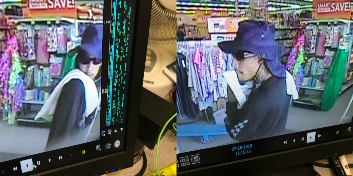 Tucson police looking to identify suspect of two robberies on Sunday