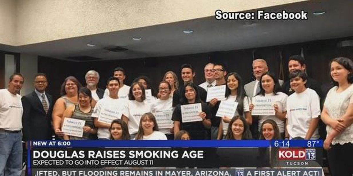 Douglas raises tobacco purchasing age from 18 to 21