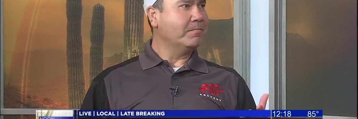 KOLD Noon Notebook: Learning about archery