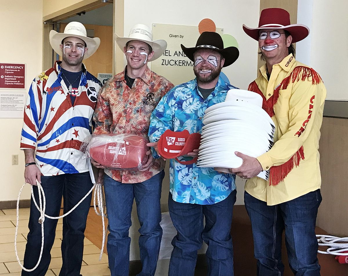 Tucson Rodeo clowns bring smiles, cheers to children at TMC