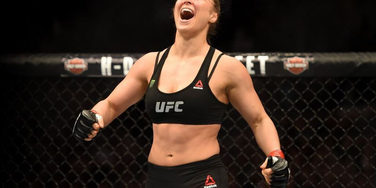 Rousey still undefeated