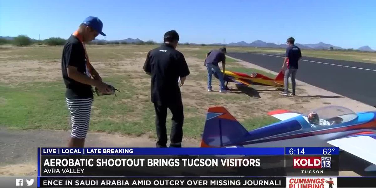 Aerobatic shootout brings some high flying visitors to Tucson