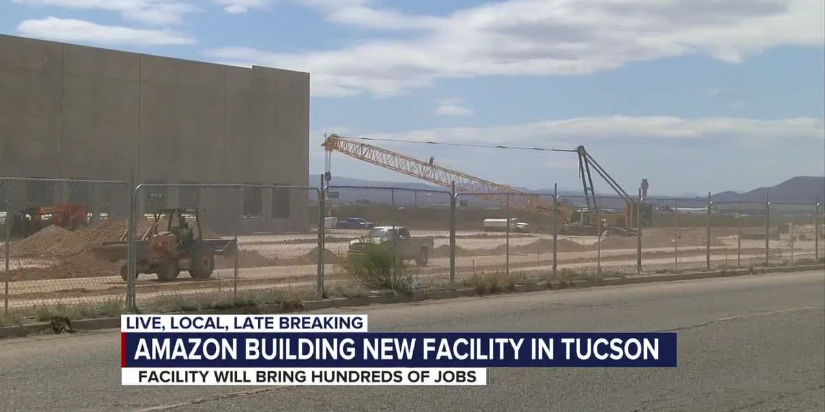 New Amazon sorting facility will bring more jobs to Tucson