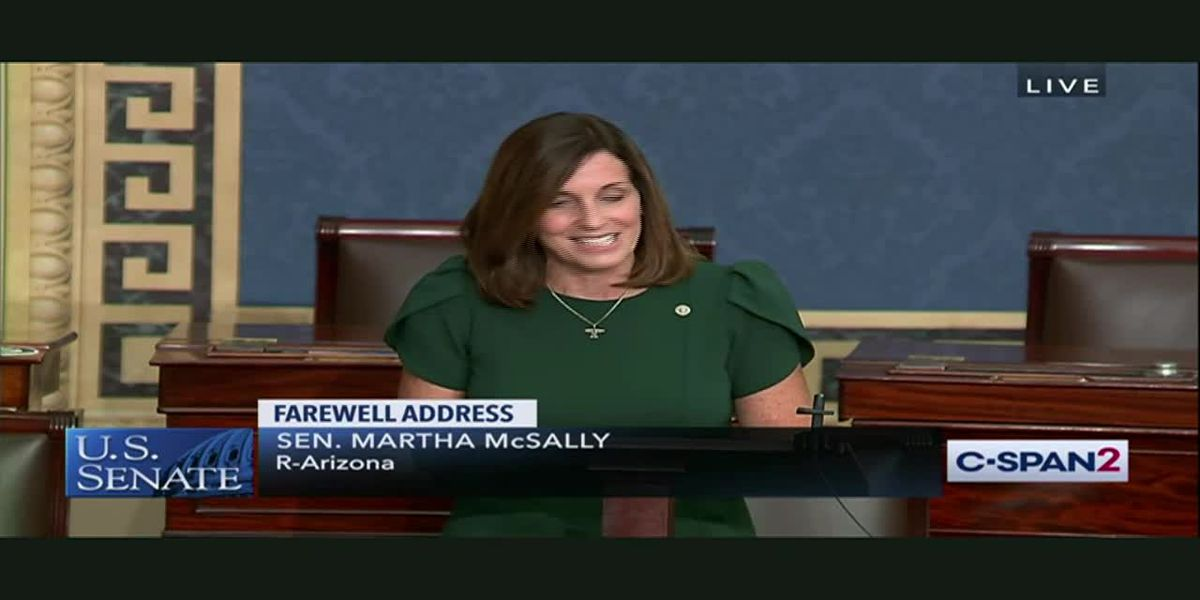 VIDEO: Martha McSally's final speech from Senate floor