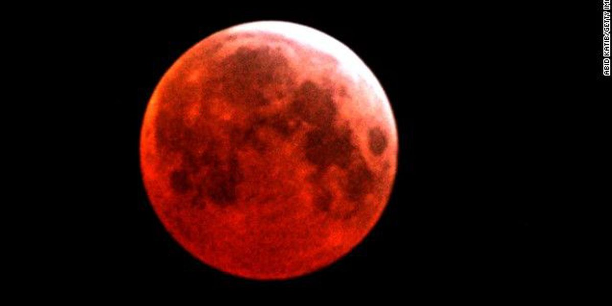 Did you miss it? Here's you chance to see the rare super blood wolf moon