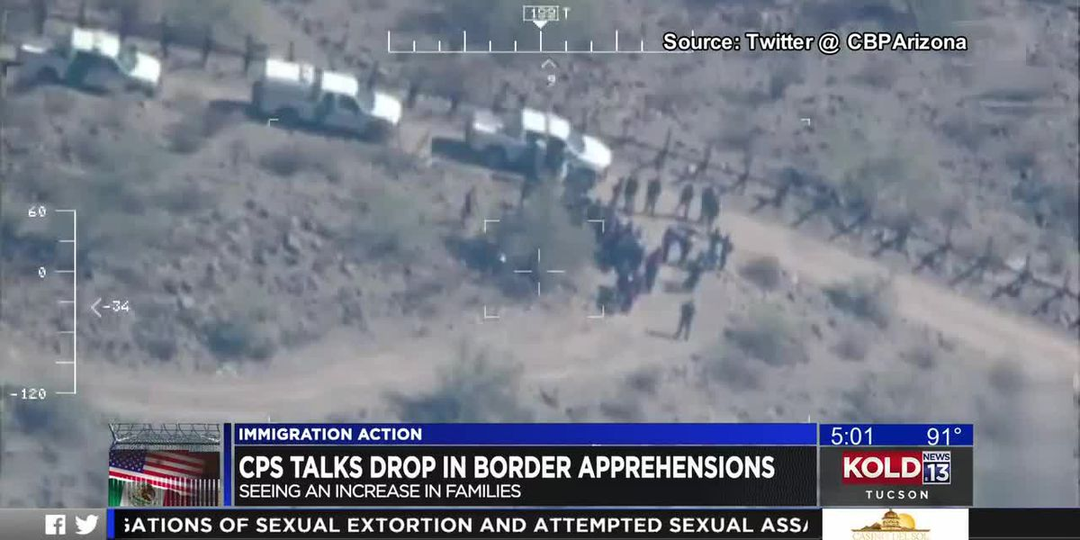 Tucson Border Patrol still stopping more migrant families