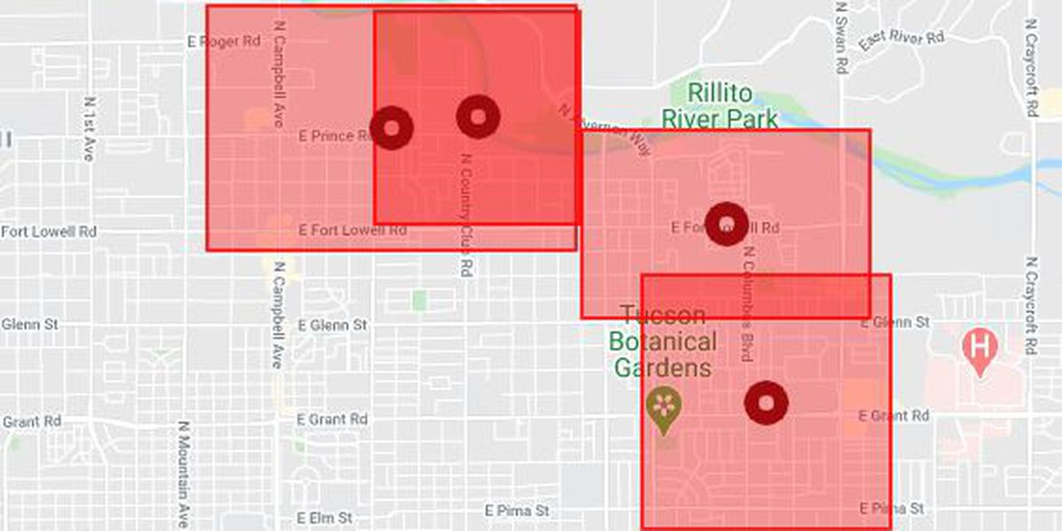 UPDATE: Power restored after outage leaves over 7,000 customers in the dark in midtown