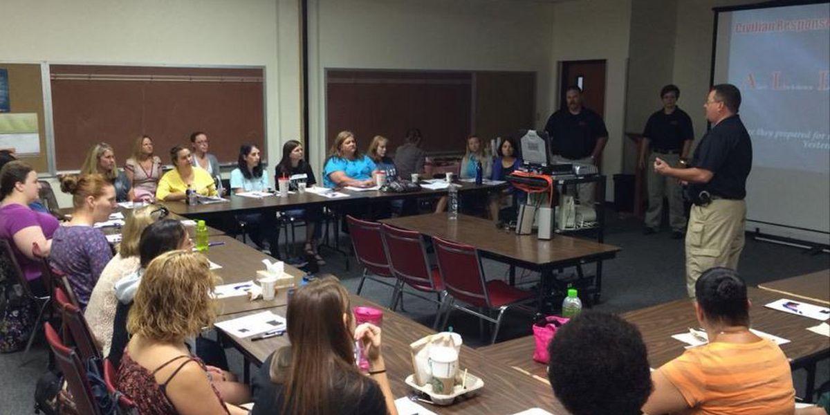 Sierra Vista teachers participating in A.L.I.C.E. training