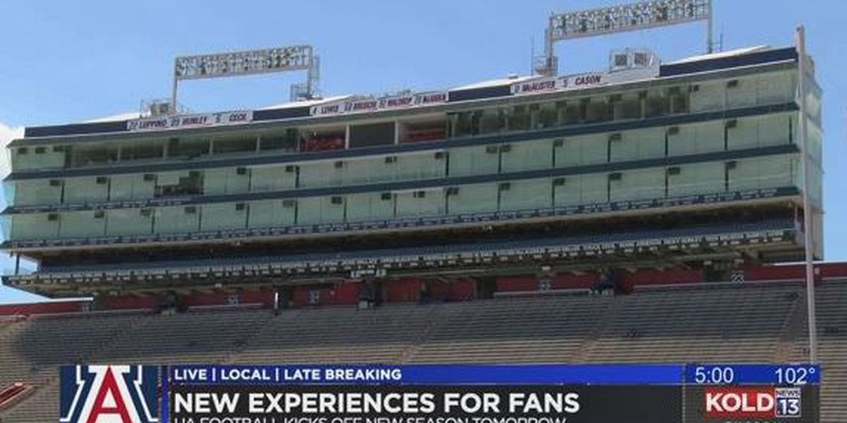 Fireworks now part of new fan experiences at Arizona Stadium