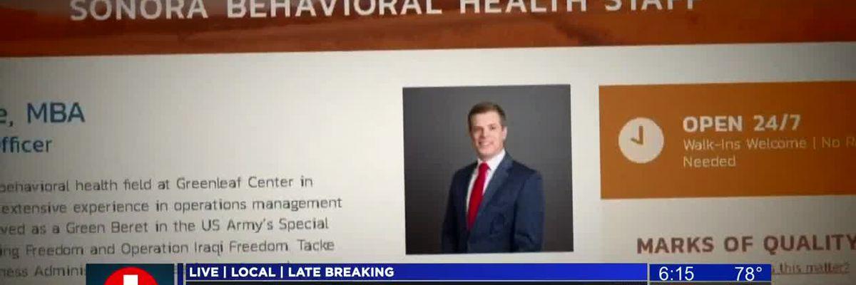 KOLD INVESTIGATES: Sonora Behavioral Health's CEO no longer with hospital