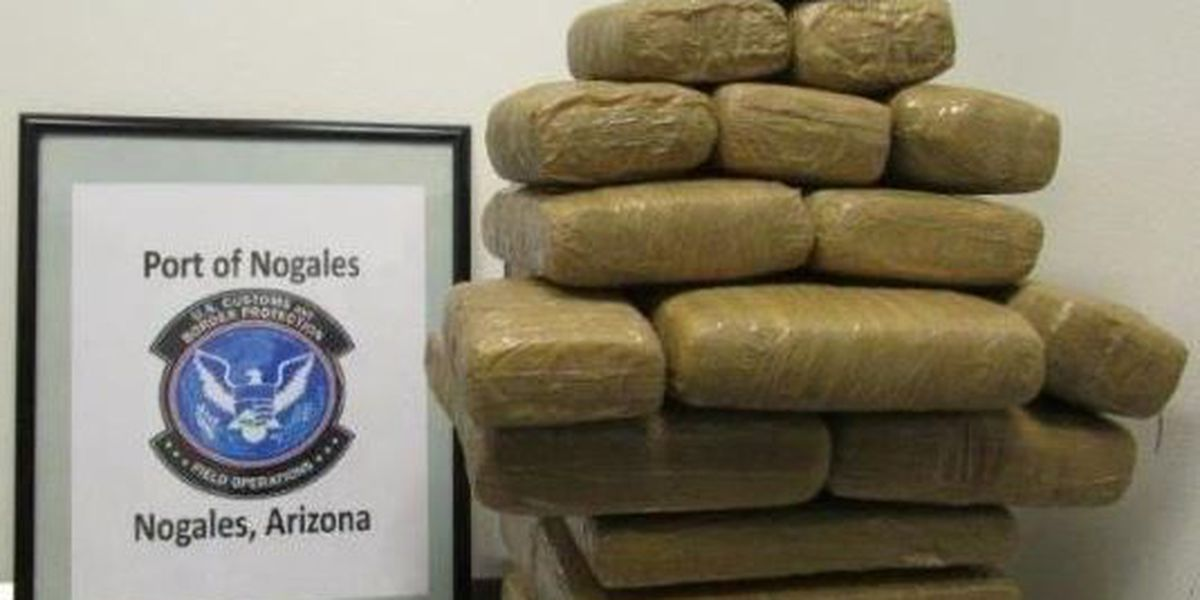 Nogales CBP Officers stop drug smuggling attempts over the weekend