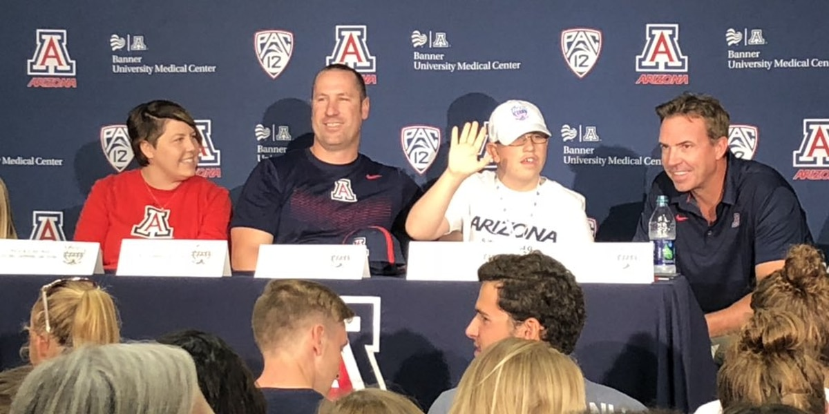 Oro Valley 12-year-old joins UA Wildcats swim team