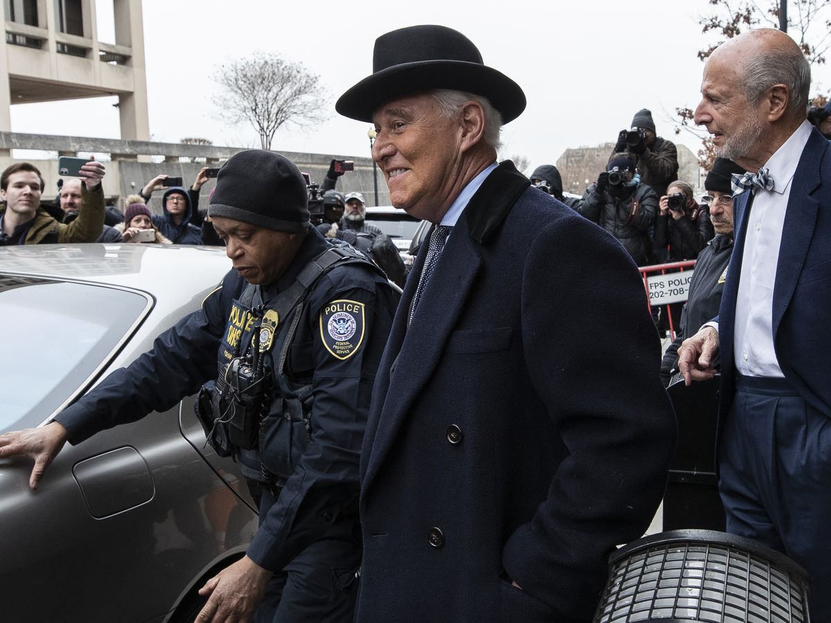 Facebook takes down accounts tied to Roger Stone, hate group, Brazil's president