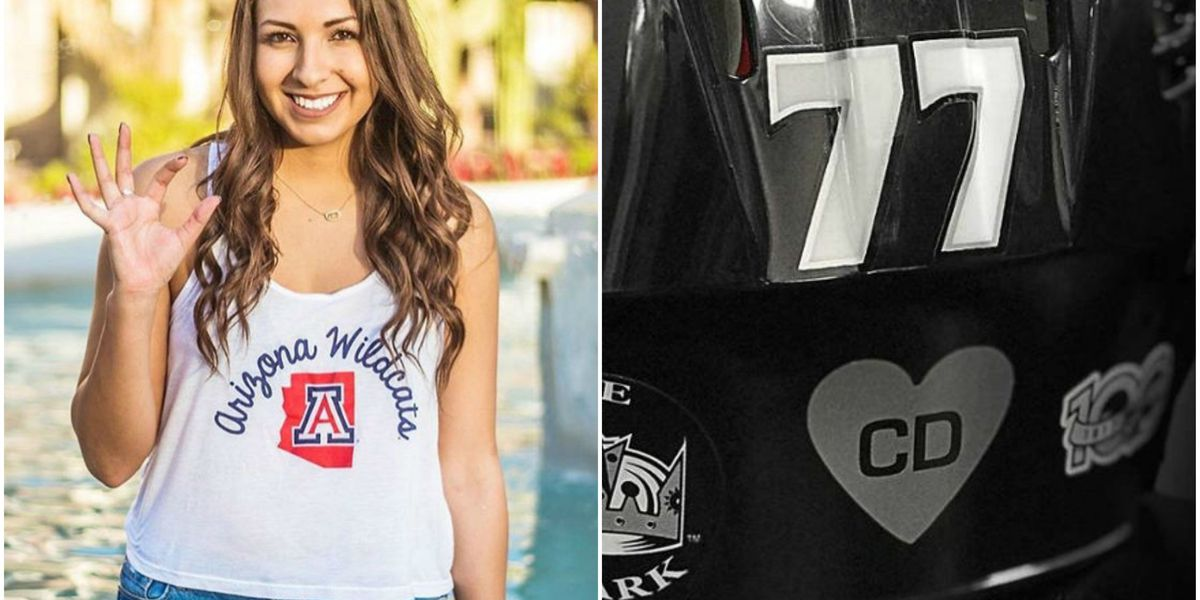 LA Kings to honor UA grad killed in Las Vegas shooting