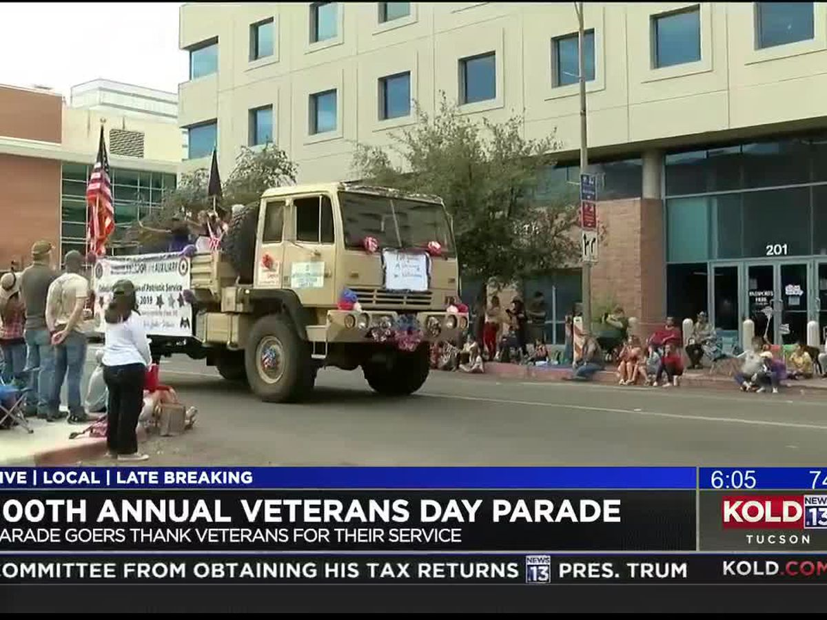 Veterans parade marks 100th year for holiday