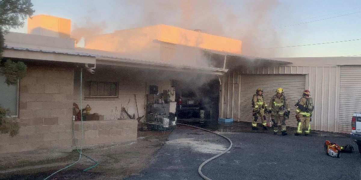 Elderly man fighting for life following fire on west side of Tucson