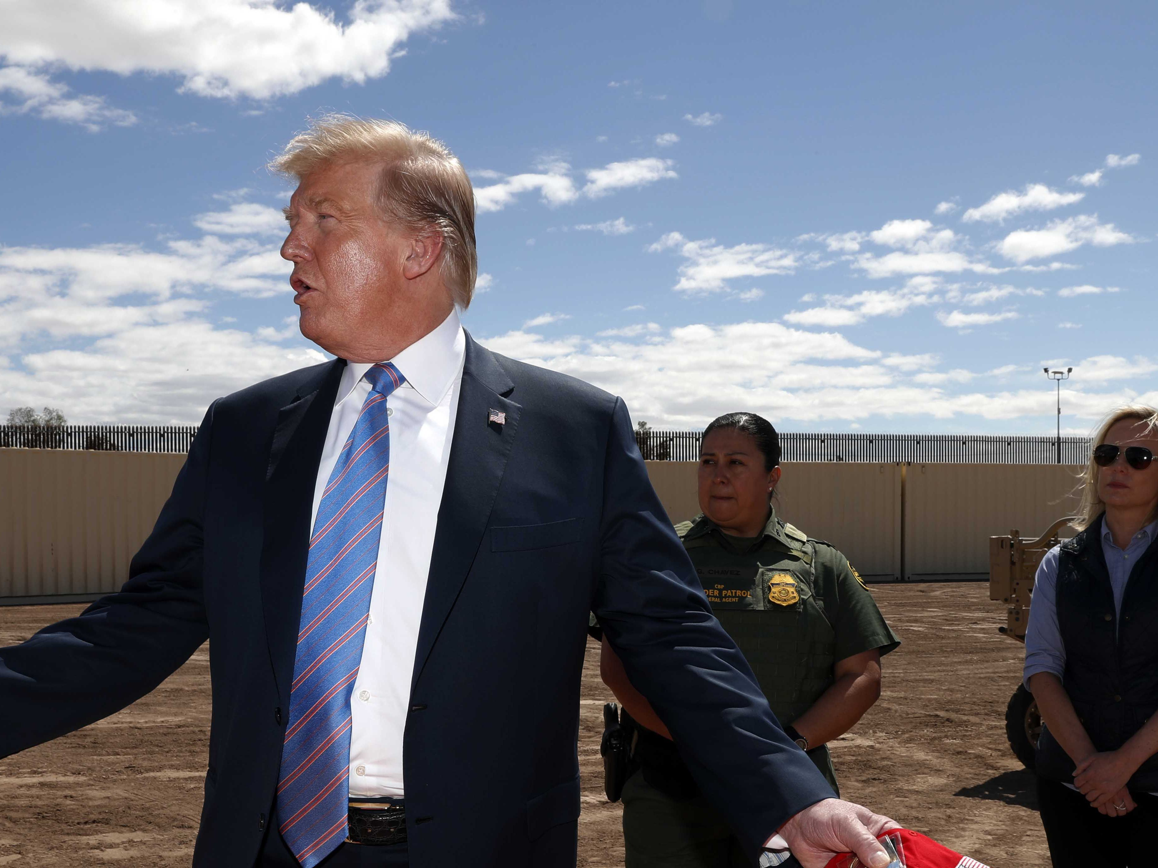 Trump says he's not looking to reinstate family separation policy