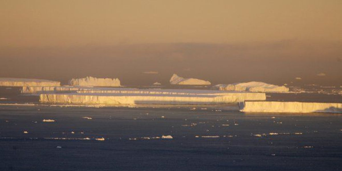 Ice extends in the Arctic this year