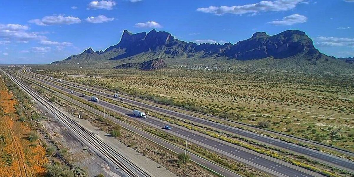 I-10 expanding to three lanes between Phoenix and Tucson