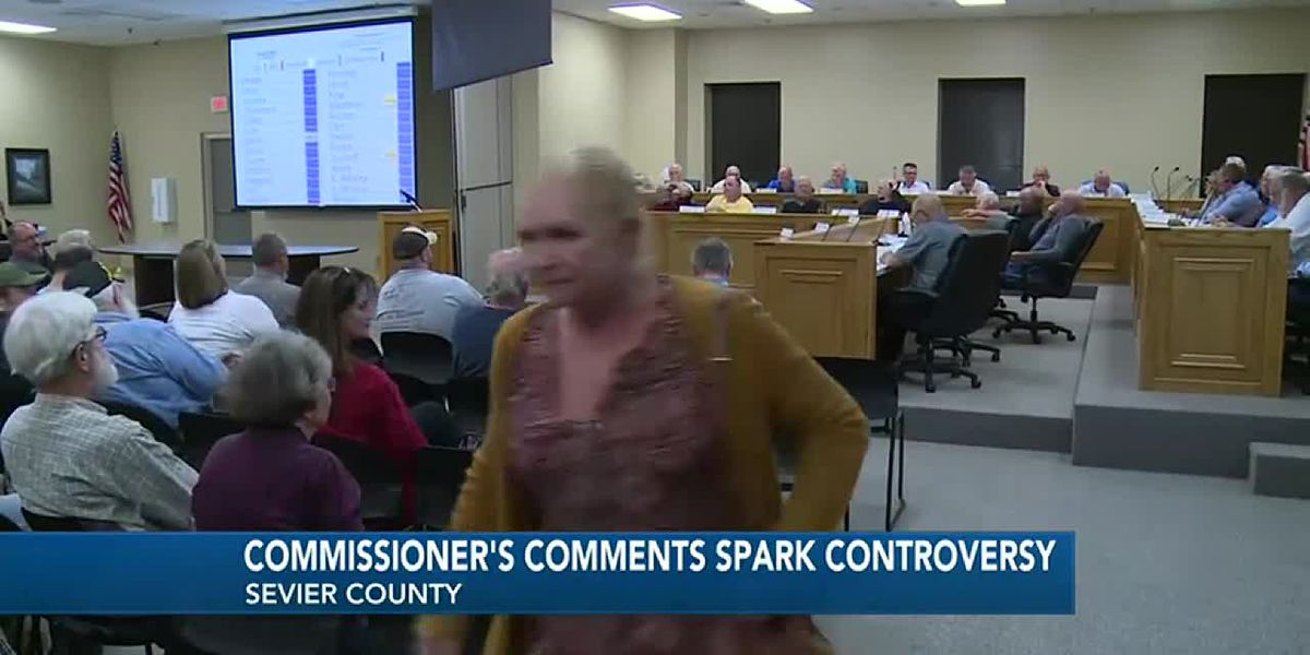 Commissioners should represent all people, woman who left meeting says