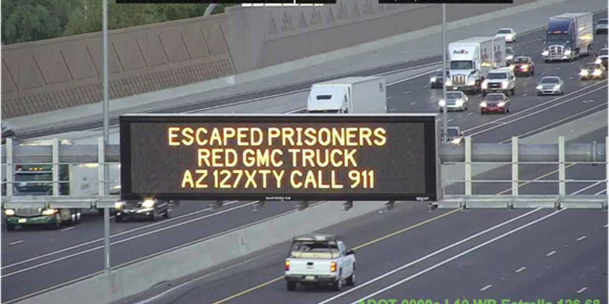 Authorities: Tucson murder suspects had help in escape