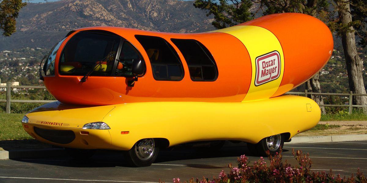 The Oscar Mayer Wienermobile is in Tucson