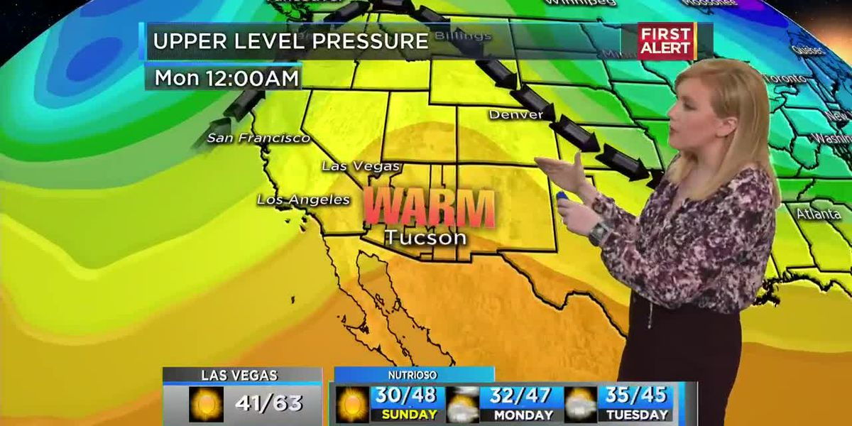 KOLD Saturday 5:30 pm Jan. 18, 2020 forecast