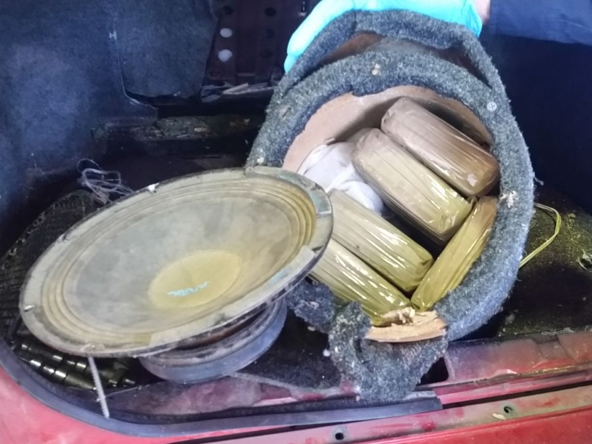 CBP officers seize $1.6 million in drugs over weekend