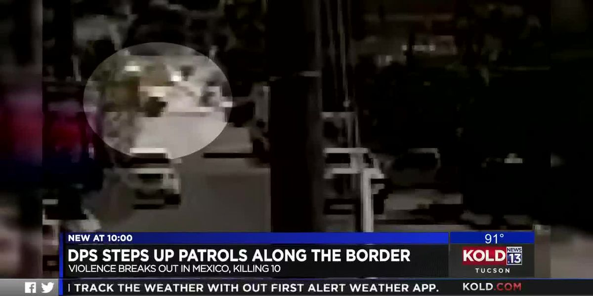 DPS steps up patrols along the border