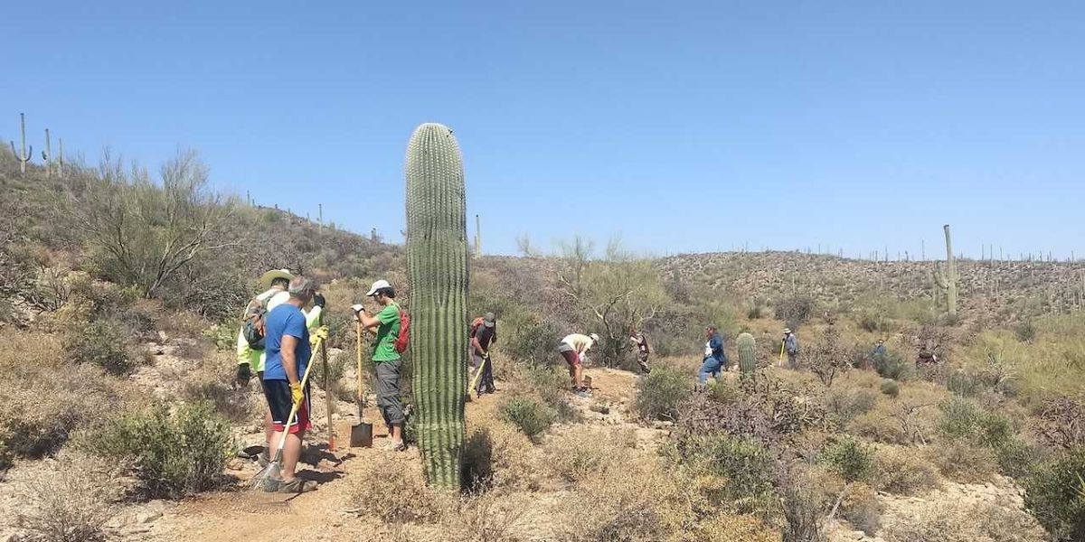 Volunteers needed for trail building in west Tucson