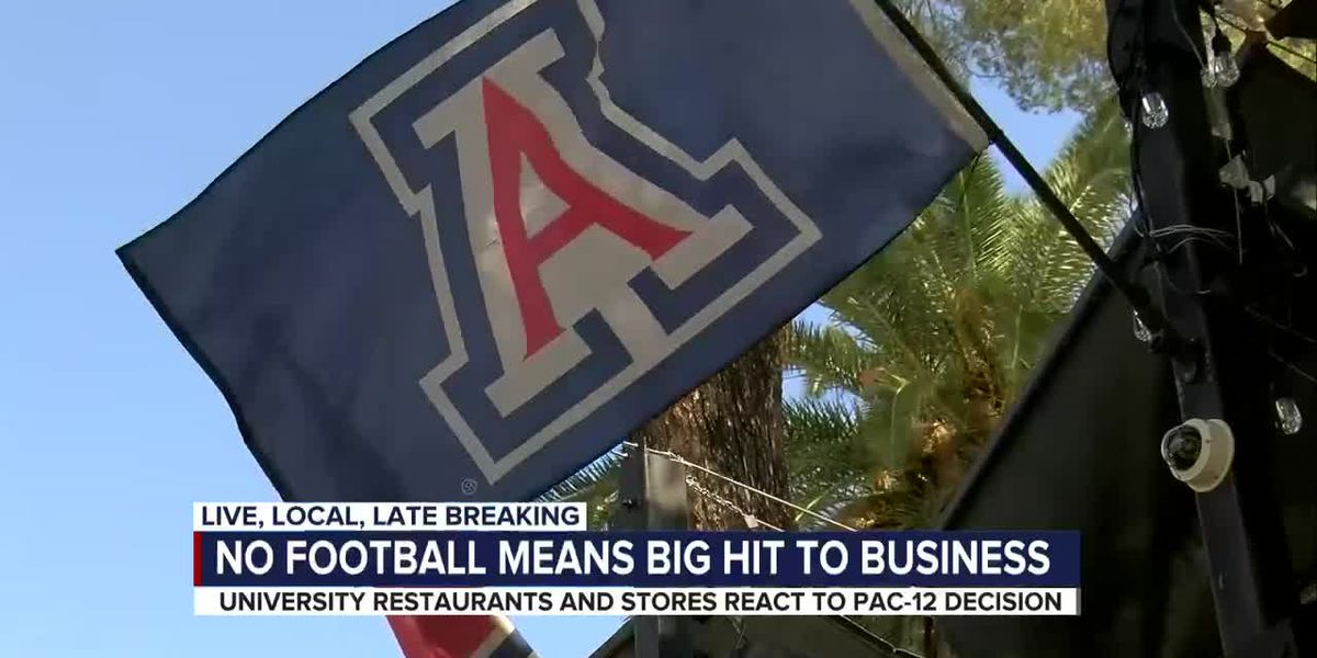 Businesses on University Blvd react to Pac-12 decision