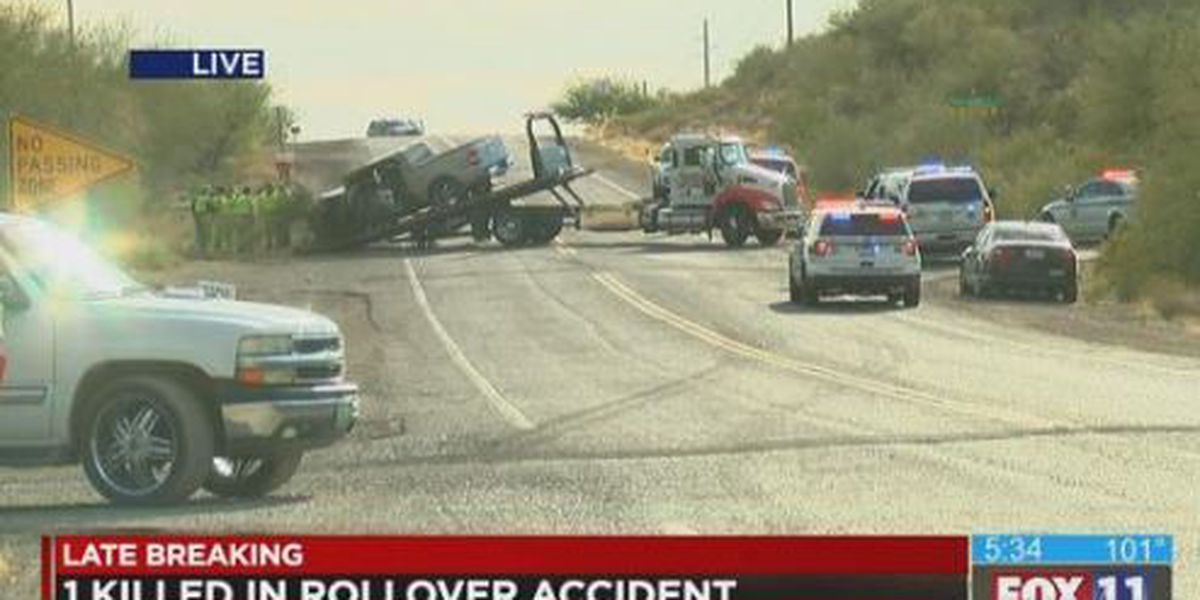 Fatal crash closes Irvington Road