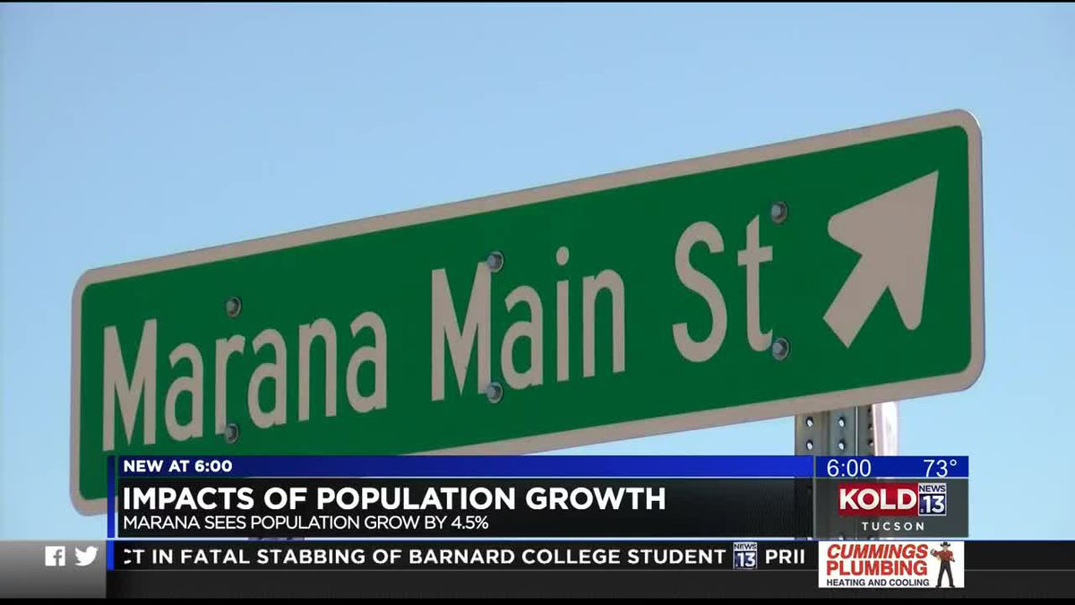 Marana sees rapid growth in residents, development