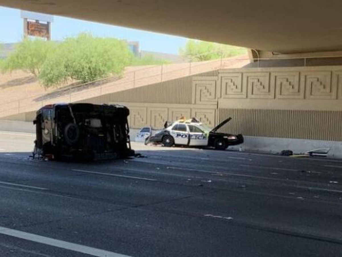 Mesa police officer critically injured in crash