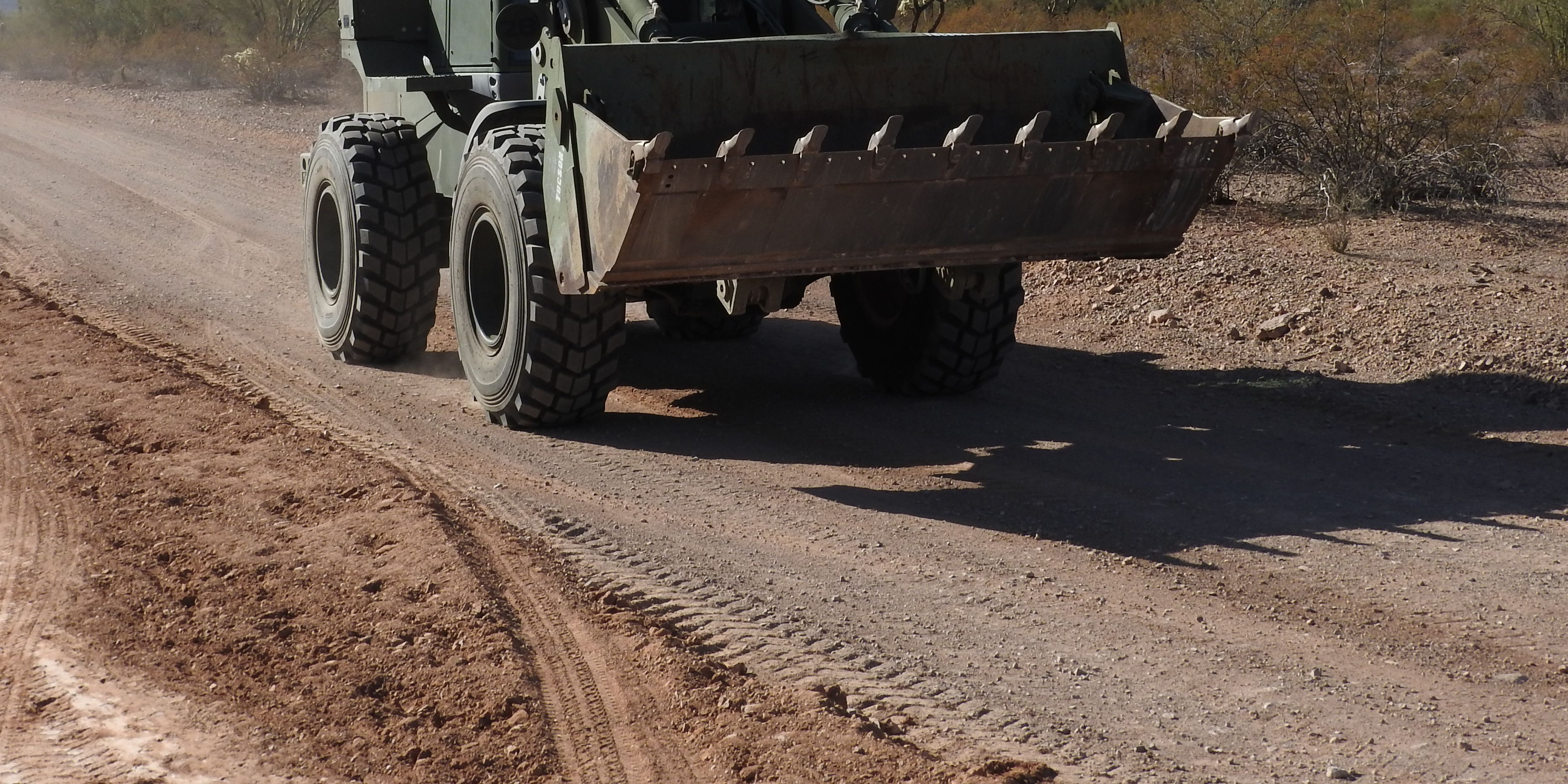 Pima County partnership with Marine Corps Reserves helps fix county roads