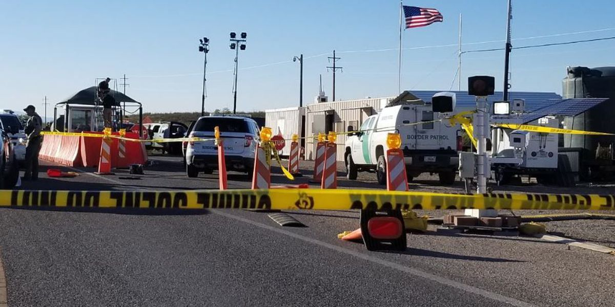 BP agents involved in shooting at checkpoint north of Tombstone