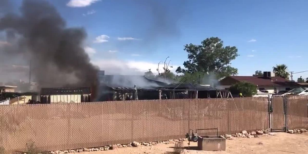 House fire near Kino and Ajo (Source: TFD Twitter)