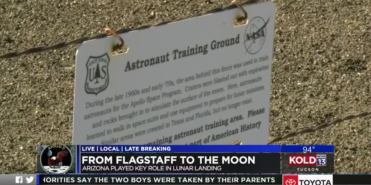 From Flagstaff to the Moon, Arizona played a key role in lunar landing