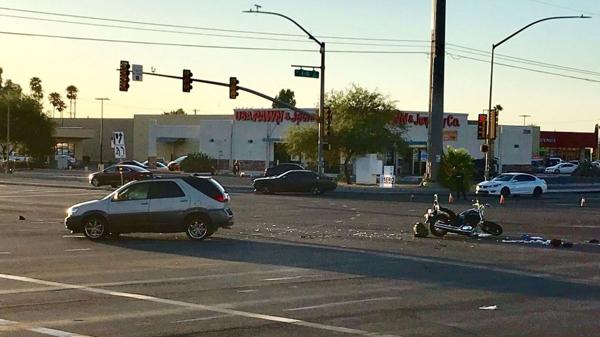 Motorcyclist identified in fatal collision on Golf Links and Kolb