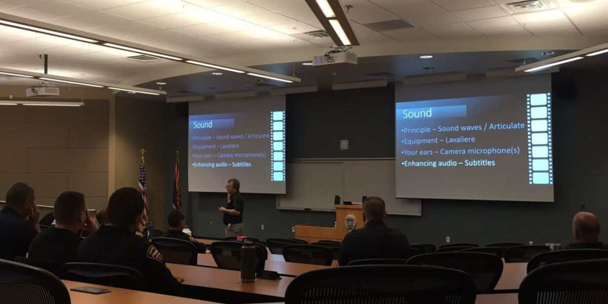 TPD officers learn about body cameras